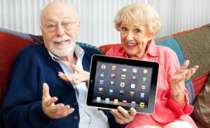Old Generations on Social Media