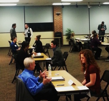 UMSL speed networking
