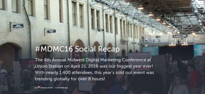 mdmc16 social recap